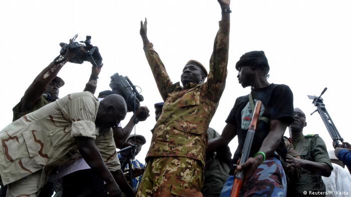 Mali Bamako | Massenkundgebung zur Feier des Putsches