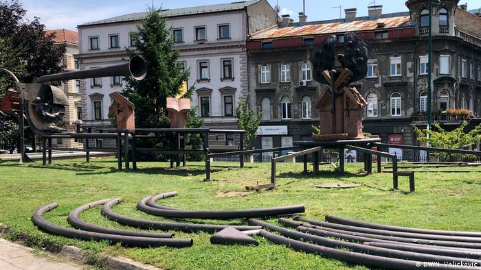 Bosnien und Herzegowina Sarajevo | Kunstwerk Helmut Lutz