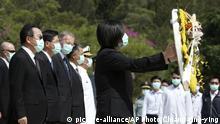 Taiwan Gedenken an Jahrestag des Angriffs Chinas auf Insel Kinmen