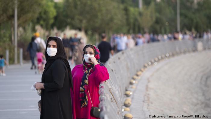 Iran Teheran | Alltag zur Coronakrise