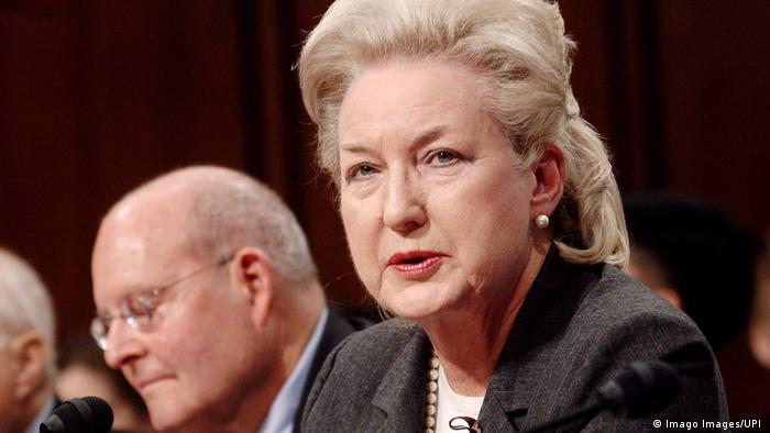 USA Richterin Maryanne Trump Barry | Schwester von Präsident Trump (Imago Images/UPI )