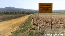 Grenze zwischen Nordmazedonien und Serbien