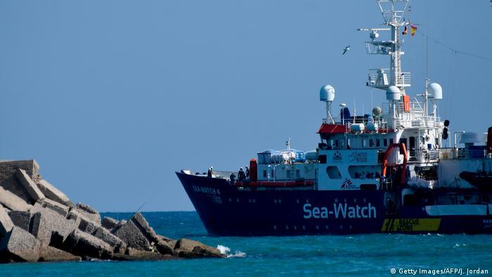 The Sea-Watch 4 rescue ship