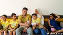 Flüchtlingsporträt Familie Suleiman