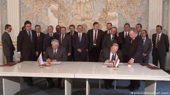 Підписання угоди створення СНД 8 грудня 1991 року