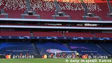 Champions League Finale 2020 Paris vs Bayern München Stadion leer
