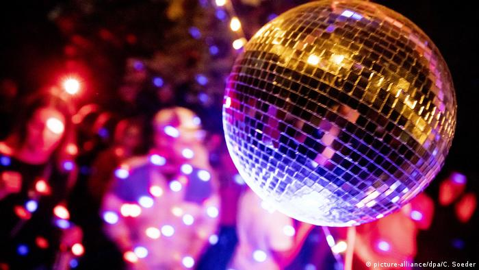 Symbolbild Party | Diskokugel