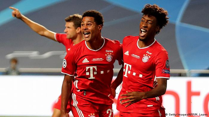 Champions League Finale 2020 Paris vs Bayern München Coman Tor (Getty Images/AFP/M. Lopes)