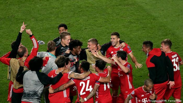 Champions League Finale 2020 Paris vs Bayern München   Jubel Bayern (Getty Images/AFP/M. Fernandez)