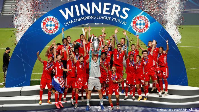 Champions League Finale 2020 Paris vs Bayern München | Sieger Bayern München (Getty Images/AFP/M. Childs)