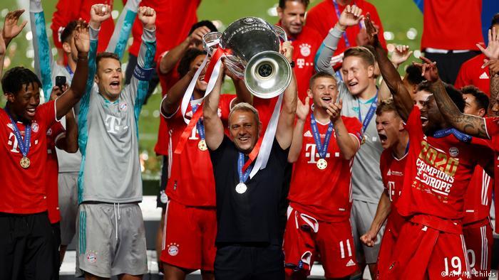 Champions League Finale 2020 Paris vs Bayern München   Sieger Bayern München   Hansi Flick (AFP/M. Childs)