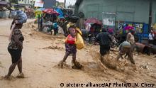 Haiti Port-au-Prince | Überflutungen nach Sturm Laura