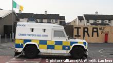 Nordirland Londonderry   Symbolbild Polizei