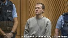 Neuseeland Brenton Harrison Tarrant Verurteilung