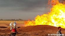 Syrien Anschlag auf eine Gas-Pipeline