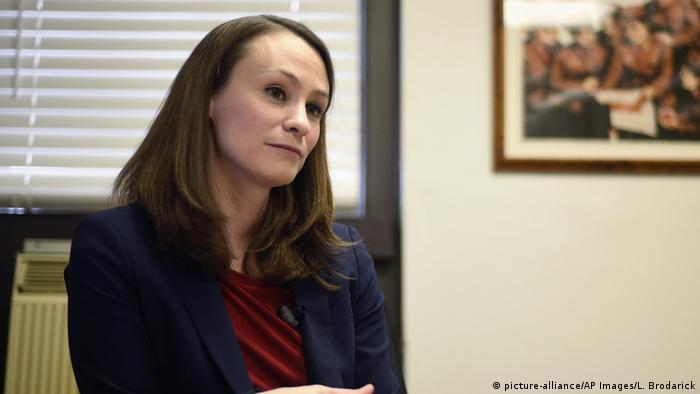 USA   Sheena Greitens Gouverneurin in Missouri