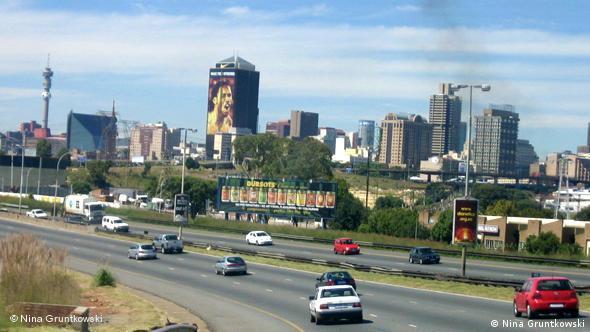 Ansicht von Johannesburg