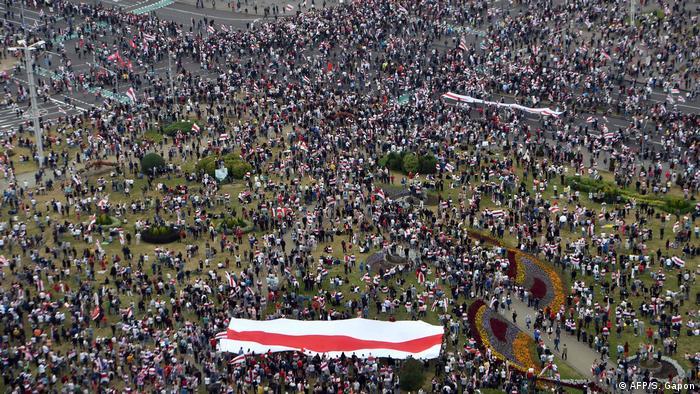 Weissrussland | Belarus | Proteste in Minsk (AFP/S. Gapon)