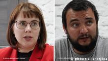 Belarus Olga Kowalkowa und Sergej Dylewski