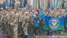Unabhängigkeitstags der Ukraine | Marsch von Verteidigern