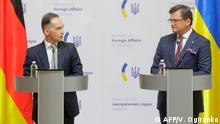 Außenminister Maas besucht Ukraine