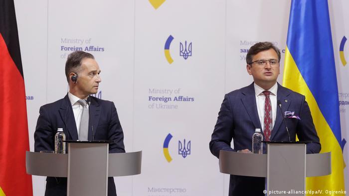 Глава МИД ФРГ Хайко Мас и глава МИД Украины Дмитрий Кулеба обещали поддержку Германо-украинской комиссии историков