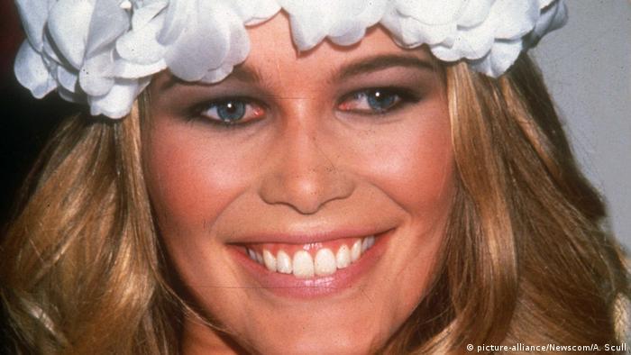 A smiling Claudia Schiffer