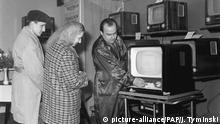 Polen 1960-1989 TV Handel Geschäft
