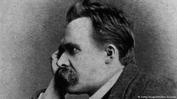 Der deutsche Philosoph Friedrich Nietzsche