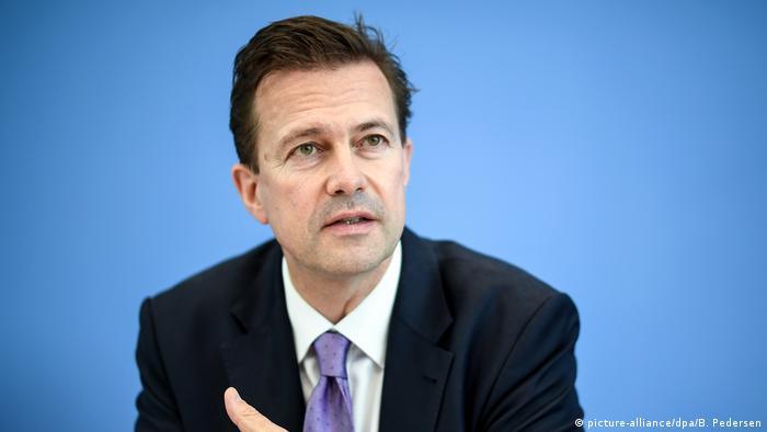 Официальный представитель правительства Германии Штеффен Зайберт