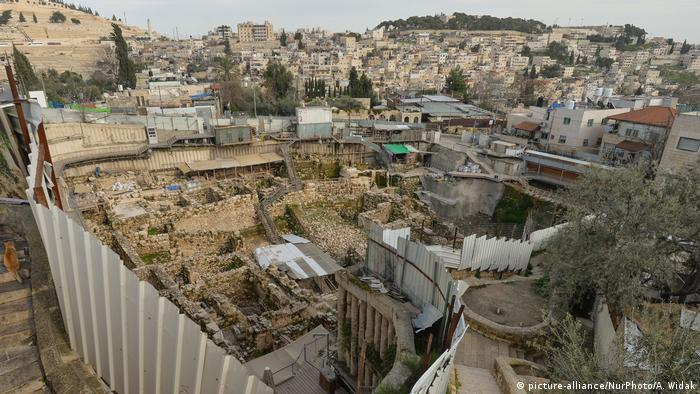 a village from the 2nd century was excavated in the City of David.