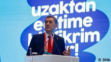 Türkei Bildungsminister Ziya Selçuk