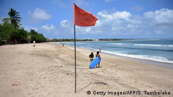 Άδειες παραλίες στο Μπαλί της Ινδονησίας