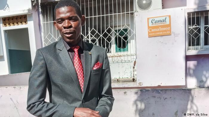 Matias Guente, editor-executivo do Canal de Moçambique