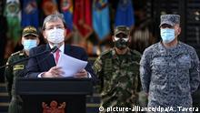 Kolumbien PK Verteidigungsminister Carlos Holmes Trujillo