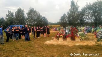 На могиле Геннадия Шутова