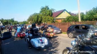 Байкеры приехали на похороны Геннадия Шутова