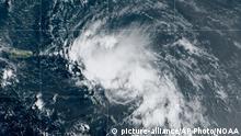 Satellitenbild Tropensturm Laura