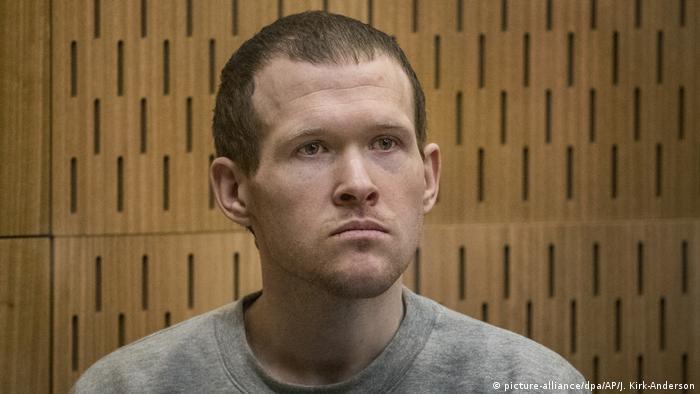 El acusado Brenton Tarrant.