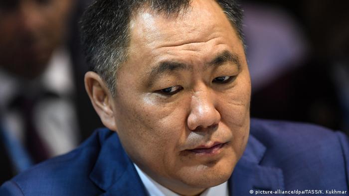 Глава Тувы Шолбан Кара-оол на Красноярском экономическом форуме