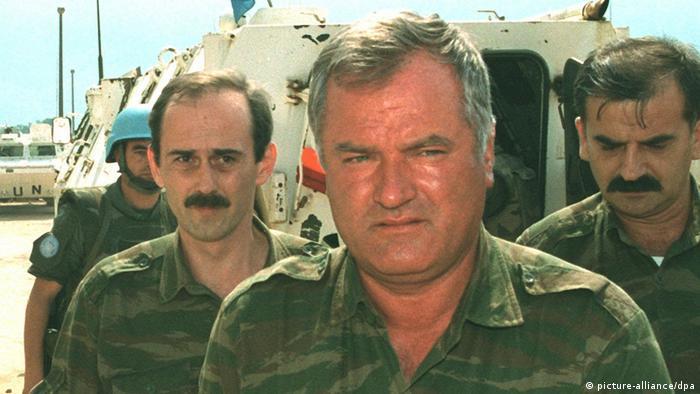 Serbien   ehemaliger General Ratko Mladic