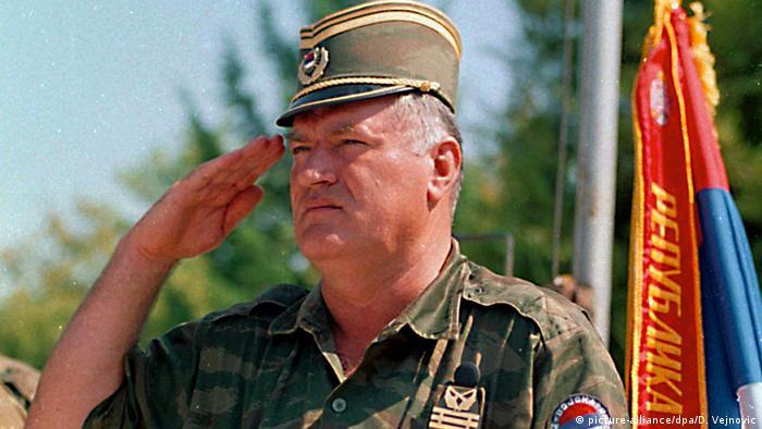 Ratko Mladić u kolovozu 1995. godine