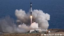 A National Reconnaissance Office (NRO) payload was successfully launched aboard a Rocket Lab Electron rocket from Launch Complex-1, Mahia Peninsula, New Zealand, at 3:56 p.m. NZDT on Jan. 31, 2020. Copyright: NRO/Scott Andrews