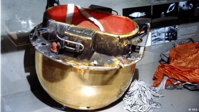 A film return capsule from the CORONA era of US spy satellites
