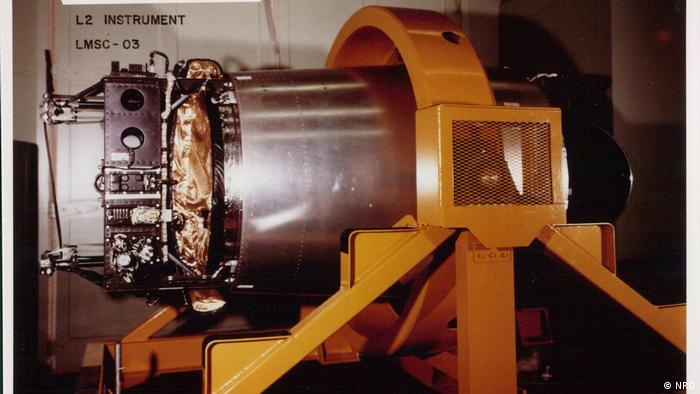 The USA's first attempt to develop a hi-resolution camera for the LANYARD spy satellite missions