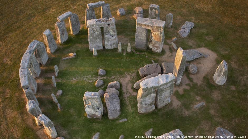 Stonehenge Von Oben