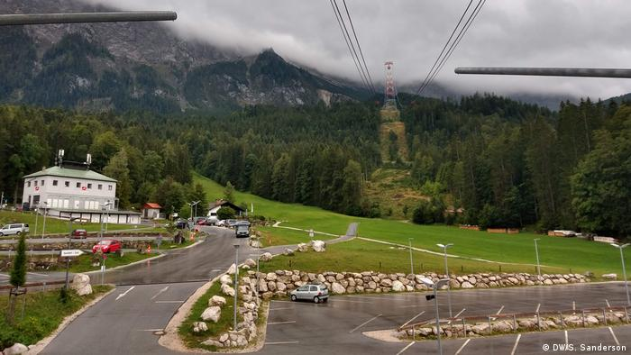 Germany, Garmisch-Partenkirchen, Zugspitze cable car station