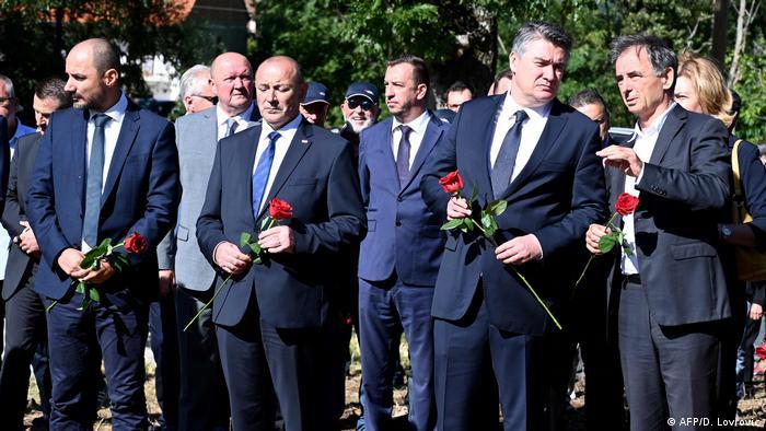 Ministar obrane i jedan od vodećih učesnika Oluje, Tomo Medved, bio je prošle godine u srpskom selu Grubori