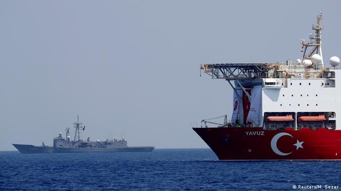 türkischer Bohrschiff Yavuz