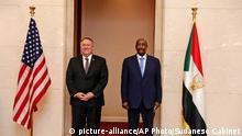 وزير الخارجية مايك بومبيو في أغسطس في السودان ـ ثمن الإلغاء من قائمة العقوبات الأمريكية باهض أمام السودان